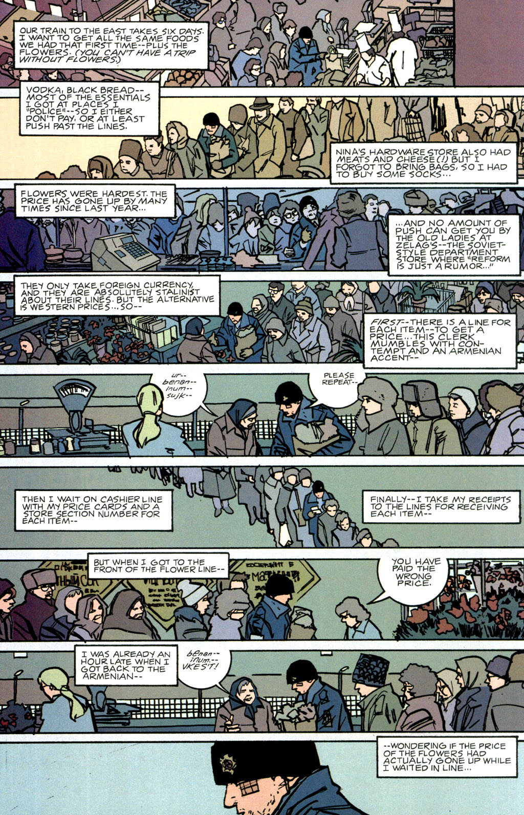 Read online The Winter Men comic -  Issue #1 - 29