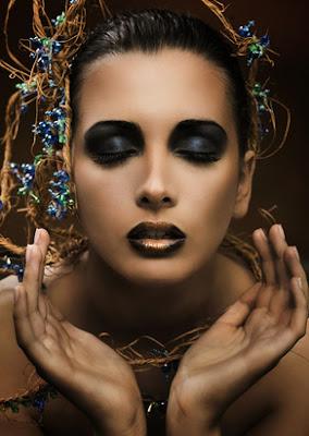 Glamour Makeup, Königin der Nacht