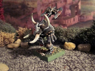 Warhammer Fantasy Orc Warboss with Great Axe