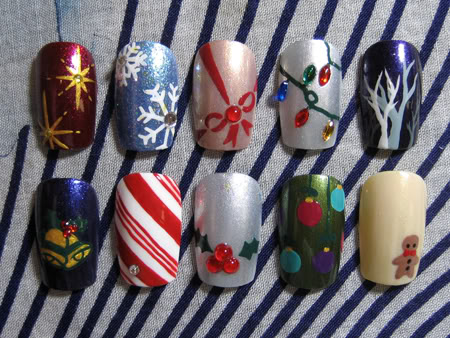 my lifestyle mude holiday nail ideas