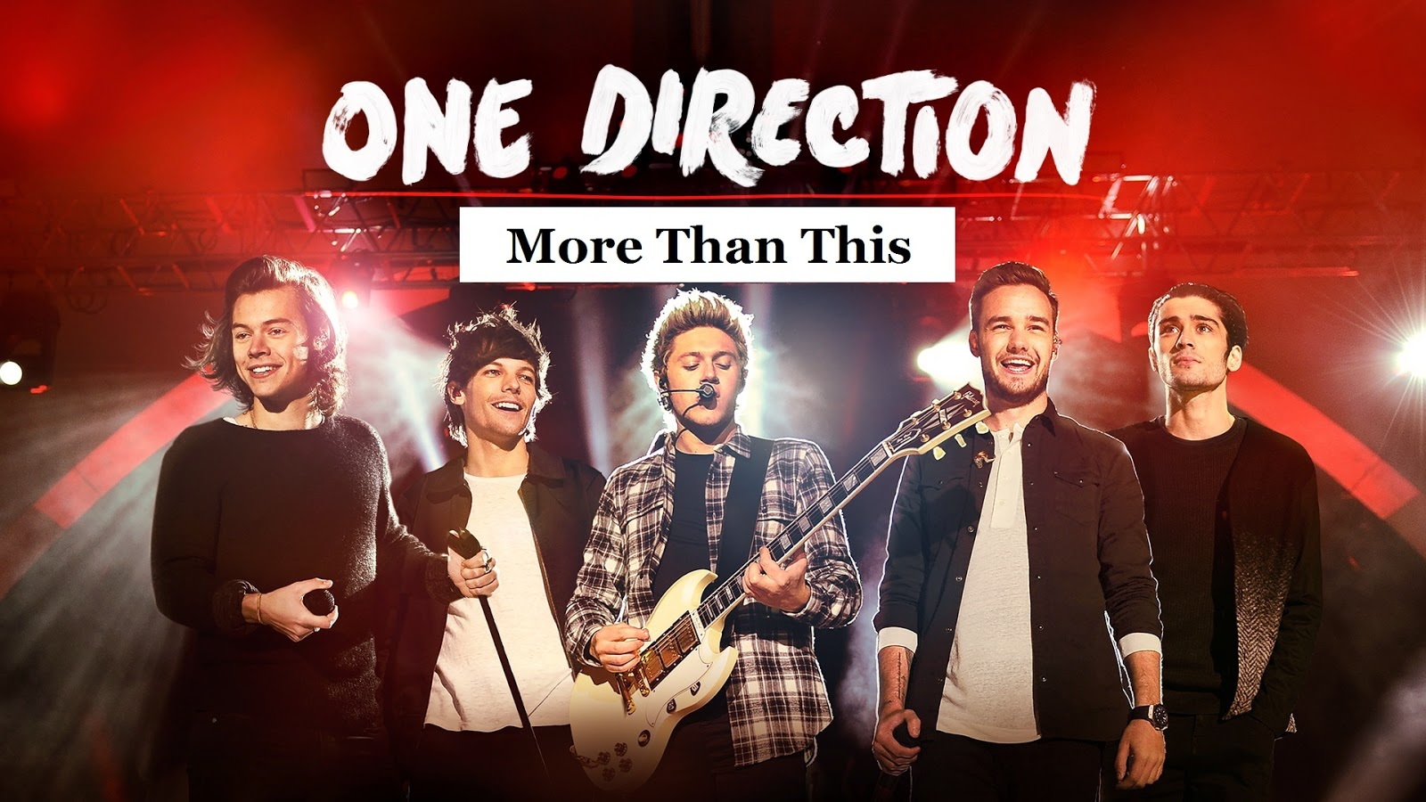 More Than This Guitar Chords ONE DIRECTION