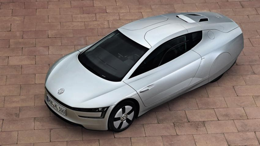 Volkswagen dual clutch automatic 10-speed transmission concept car