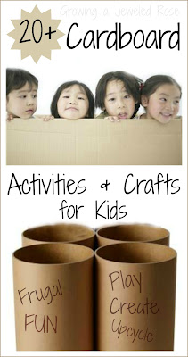 Ways to PLAY & Create with cardboard
