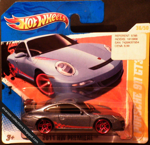 Hot Wheels:  Porsche 911 GT3