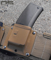 Troy mag in kydex carrier with Battle belt war belt