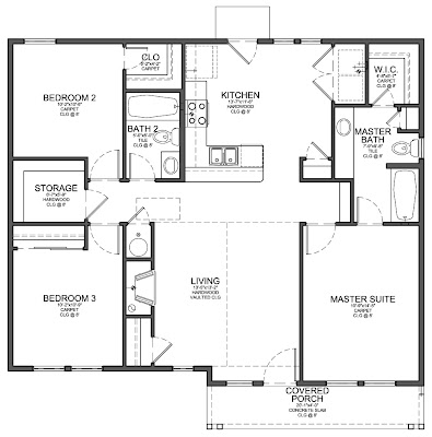 open floor plan barn homes. open. home plan and house design ideas