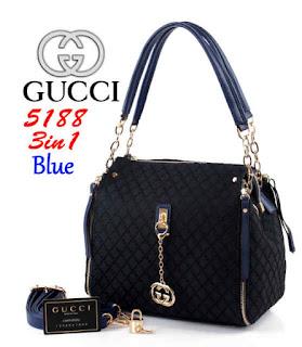Tas KW Gucci Chicago 3in1 Semi Premium 5188WC Jakarta