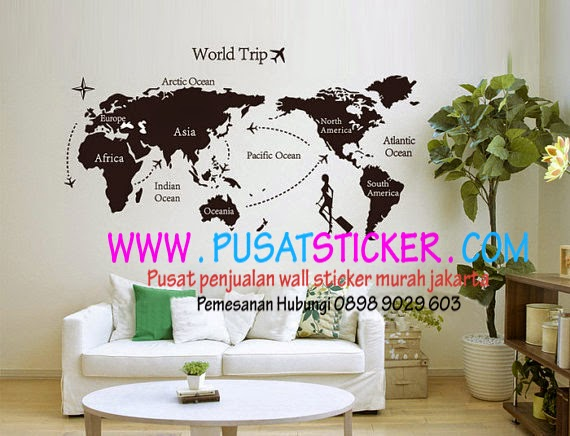 disini wall sticker ready stock - olivacollection