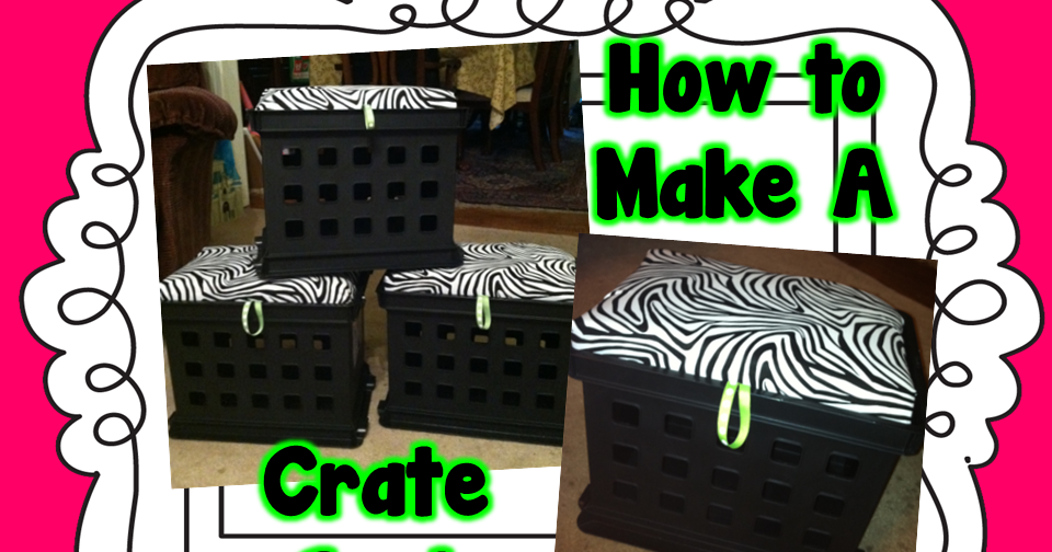 Ginger Snaps How To Make A Crate Seat