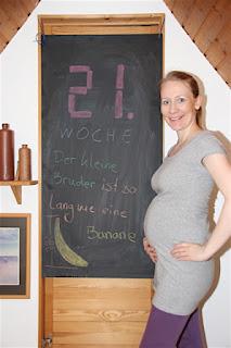 Bauchbild 21. Schwangerschaftswoche