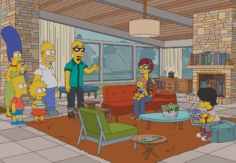 M Modern Architecture Simpsons