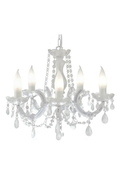 crystal garden chandelier