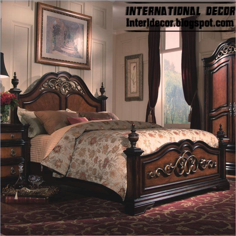 Turkish bed designs for classic bedrooms furniture for Classic bedroom ideas