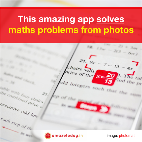 This Amazing App Solves Maths Problems From Photos