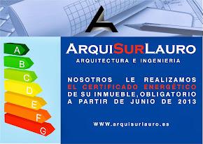 Su certificado energético con Arquisurlauro