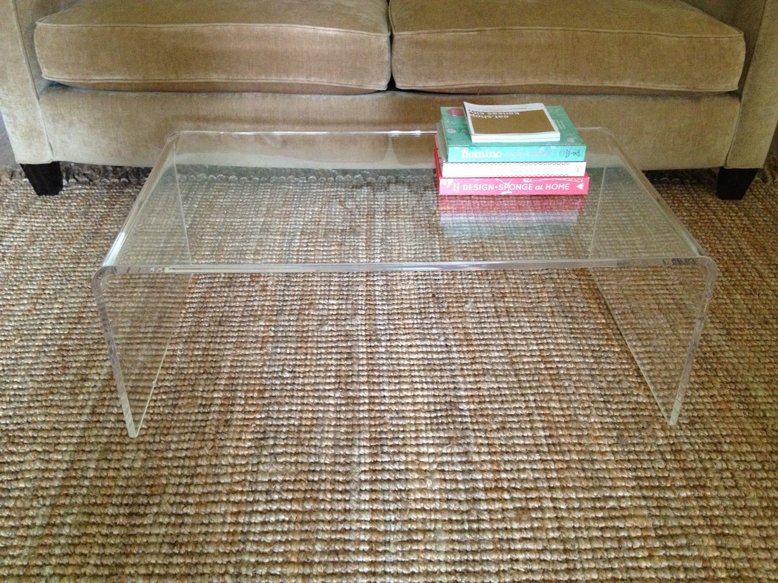 coffee table acrylic and glass coffee table chic acrylic coffee