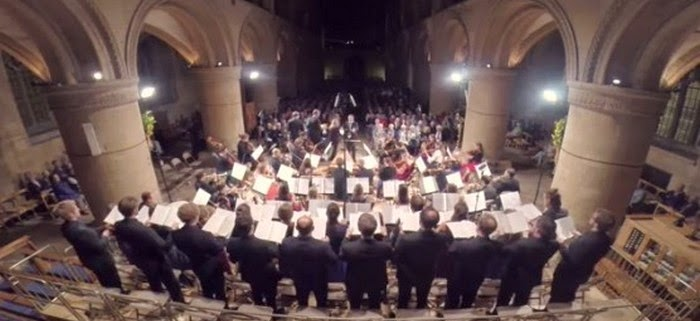 Haydn's Creation at the 2014 Southwell Music Festival, conducted by Marcus Farnsworth