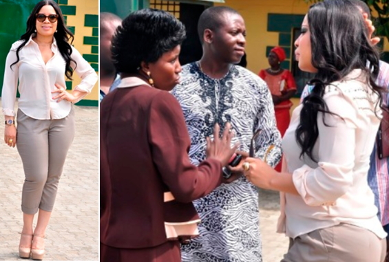 monalisa chinda visits kirikiri prisons