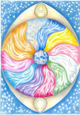 Disco Solar Sagrado Alpha Ômega