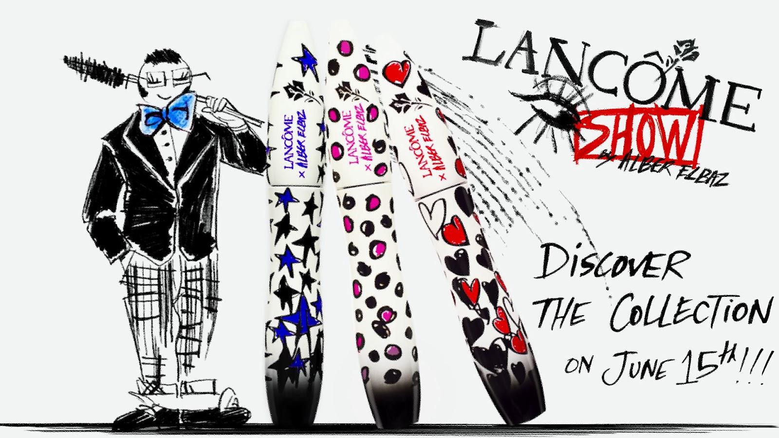 """Hypnôse show"" : Alber Elbaz x Lancôme, starting today ..."