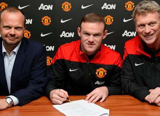 Wayne Rooney Manchester United Striker 2014