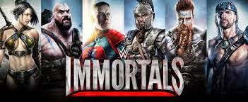 Download Game WWE Immortals for Android Apk + data