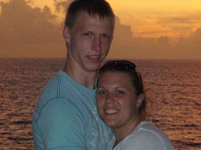 Us on our Honeymoon in Jamaica