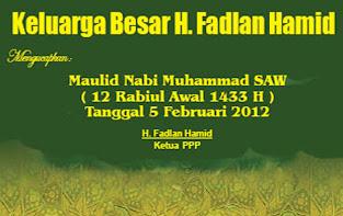 Keluarga Besar H. Fadlan Hamid