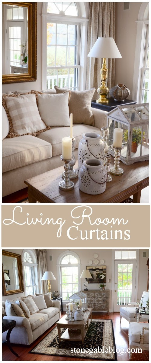 LIVING ROOM CURTAINS - StoneGable