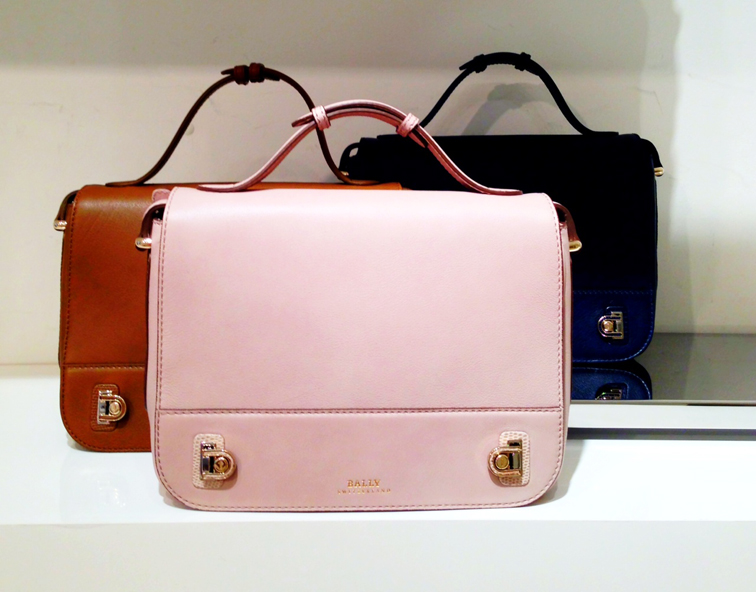 BALLY SWITZERLAND DUFFY BAG FALL 2013 LEATHER GOODS