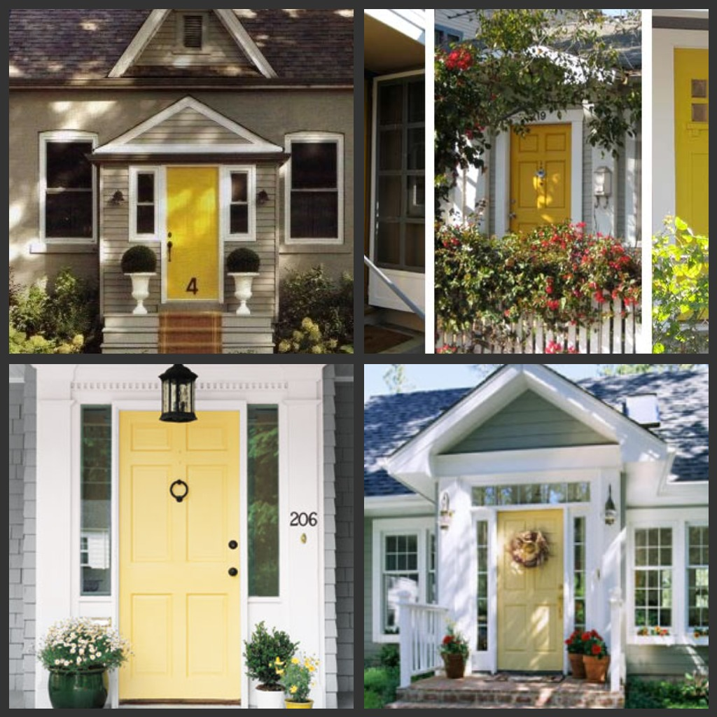 margot's petite maison: follow the yellow front door!