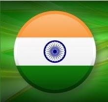 INDIA CIRCLE FLAG