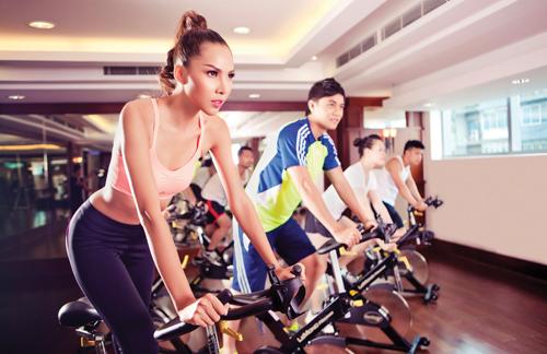 Phòng tập Gym - Vincom Long Biên
