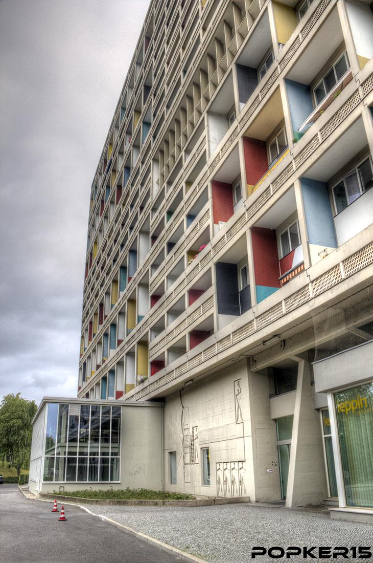 popker corbusierhaus unit d 39 habitation berlin. Black Bedroom Furniture Sets. Home Design Ideas