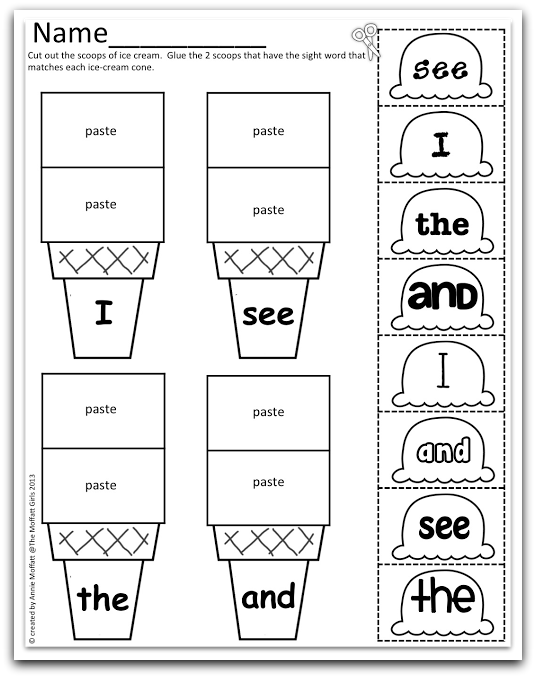 math worksheet : color word cut and paste worksheets  the best and most  : Color Cut And Paste Worksheets For Kindergarten