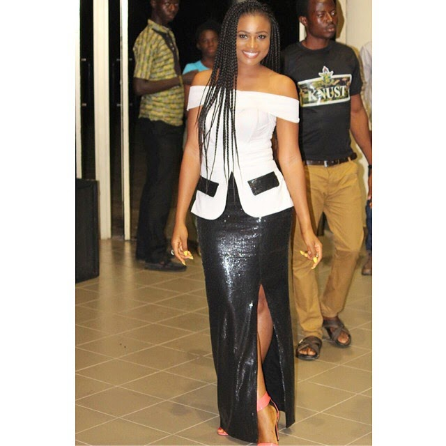 Christabel Ekeh Shines in Black and White at The Premiere of New Movie BEFORE NOON