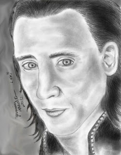 Loki (desenho realista)