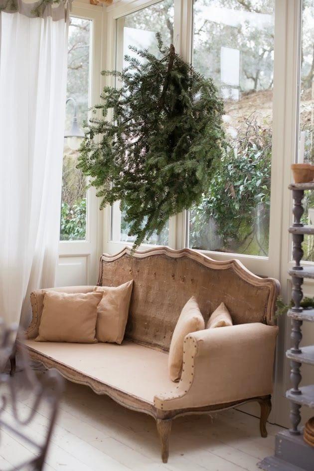 Ramas de pino natural para decorar decoracion for Ramas blancas decoracion