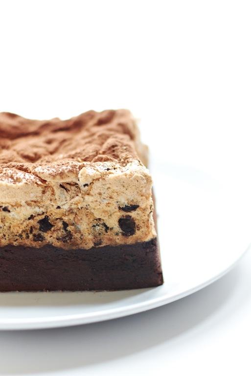 Yue's Handicrafts ~月の工作坊~: Chocolate & Hazelnut Meringue Cake