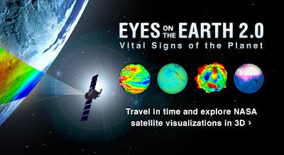 Herramienta de Visualización de datos de satélite de la nasa