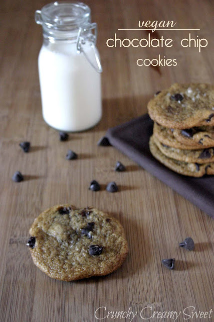 vegan+chocolate+chip1a CCC Monday: Vegan Chocolate Chip Cookies