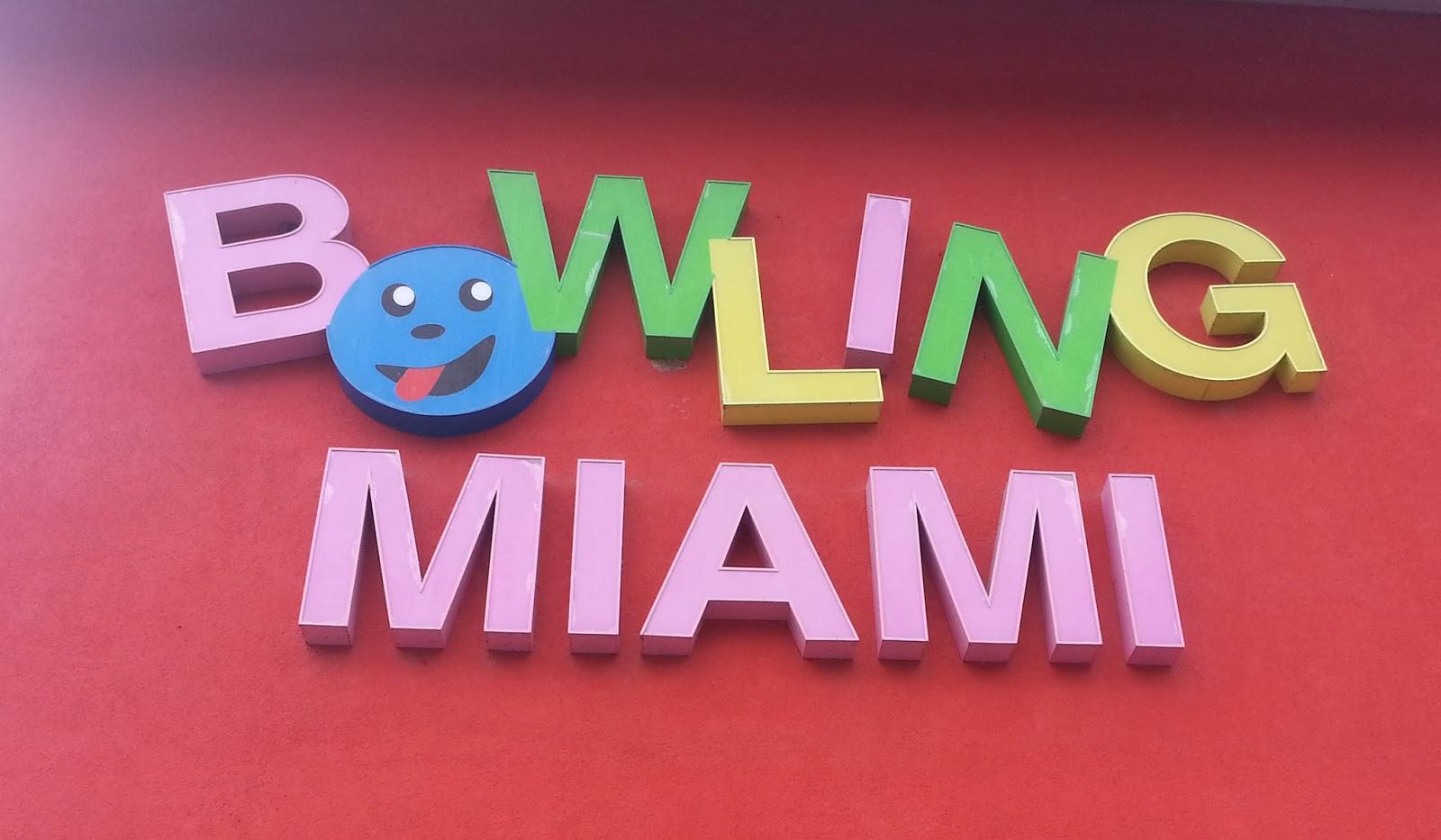 anniversaire bowling miami