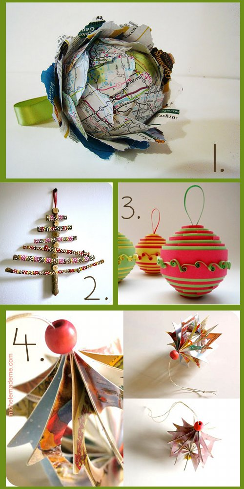 DIY Christmas Tree Ornaments You Can Craft – 15 Ideas for Handmade ...