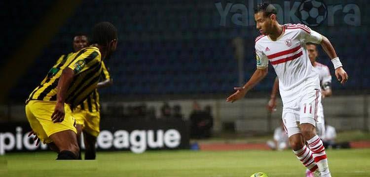 اهداف مباراة الزمالك وفيتا كلوب فى دورى ابطال افريقيا 0-1