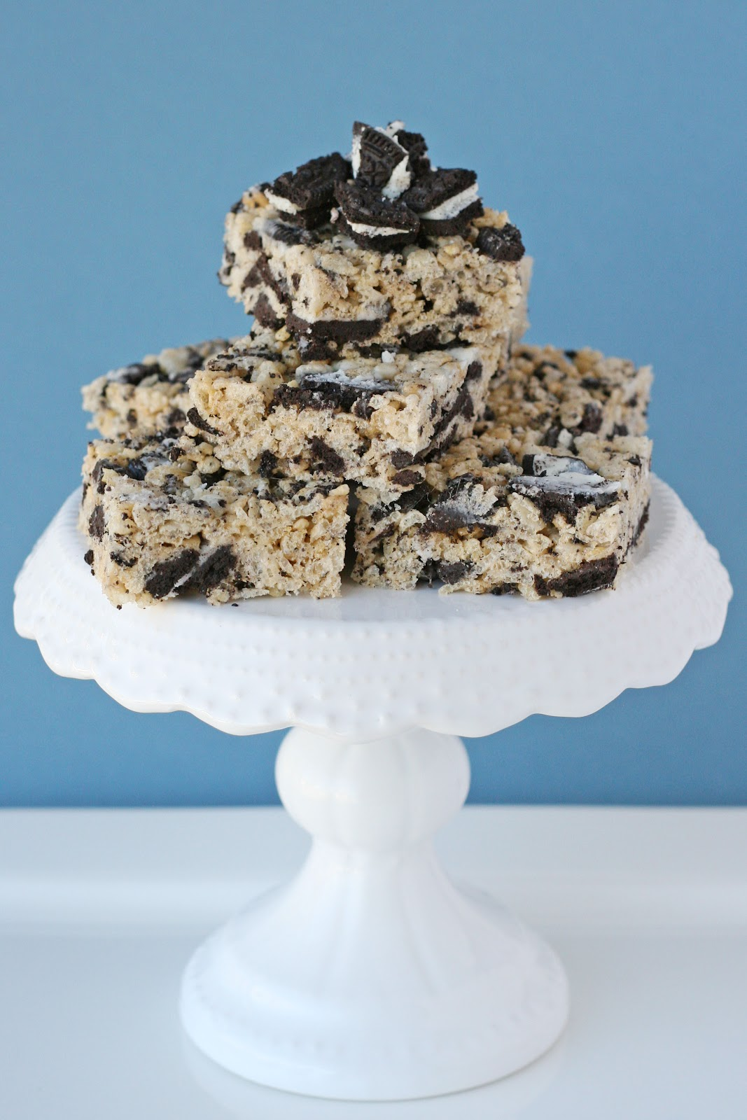 Cookies and Cream Rice Krispies Treats – Glorious Treats