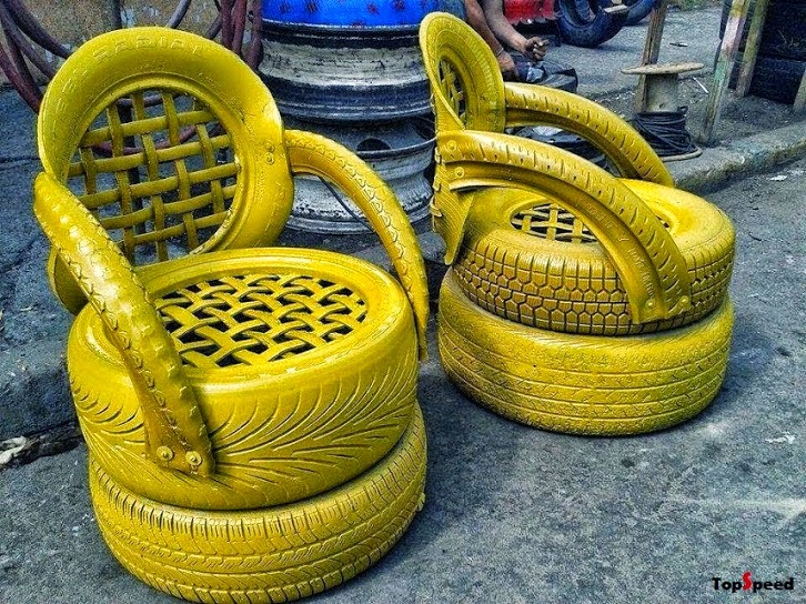 Cool stuff you can use a great way to solve the problem for Uses for old tyres