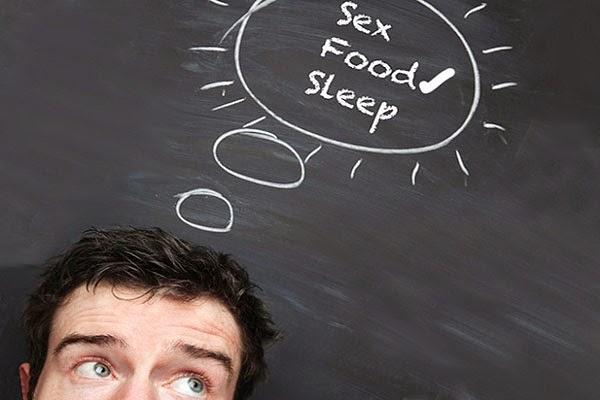 Los hombres prefieren el sexo o la comida?