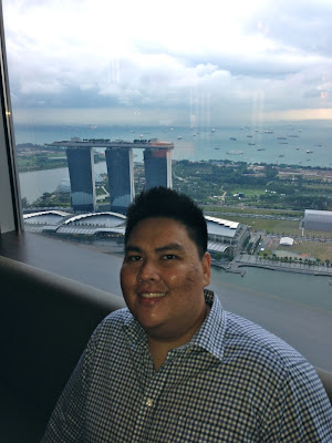 view of marina bay sands singapore