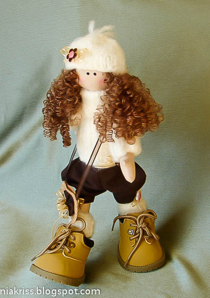 Большеногие куклы мастер класс