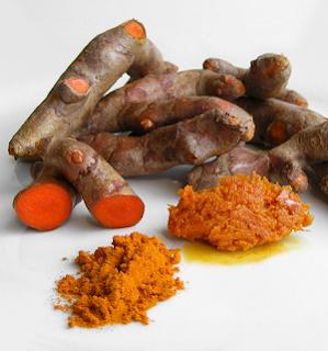 Kunyit - Salah satu resep tradisional untuk ayam aduan